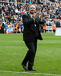 Rafa Benitez manager of Newcastle United during the EFL Championship match at St James' Park Stadium, Newcastle upon Tyne. Picture date: May 7th, 2017. Pic credit should read: Jamie Tyerman/Sportimage