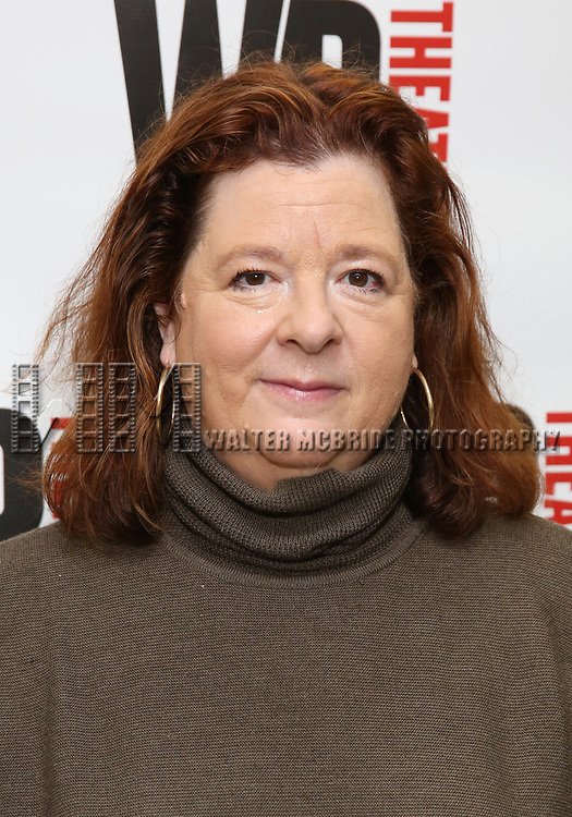 Theresa Rebeck attends the WP Theater production of 'What We're Up Against' Photo Calll at WP Theater Office on October 5, 2017 in New York City.