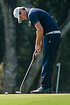Damien Perrier of France putts during the 58th UBS Hong Kong Golf Open as part of the European Tour on 09 December 2016, at the Hong Kong Golf Club, Fanling, Hong Kong, China. Photo by Marcio Rodrigo Machado / Power Sport Images