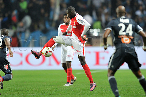 26.11.2016. Monaco, France. French League 1 football. Monaco versus Marseille.  TIEMOUE BAKAYOKO (asm)