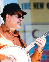 Playing at the 2010 Blues and BBQ Festival in New Orleans.