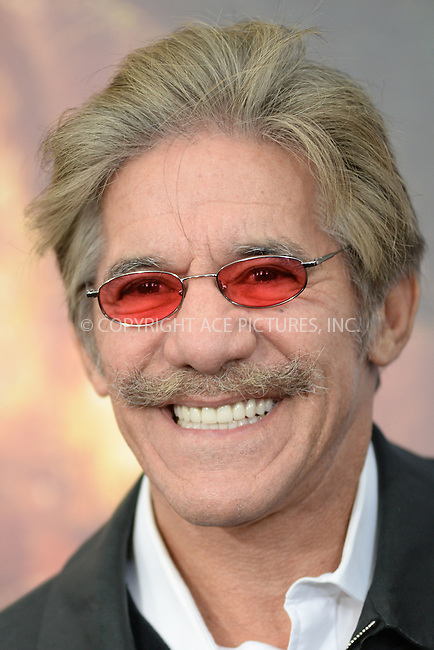 WWW.ACEPIXS.COM<br /> October 4, 2015 New York City<br /> <br /> Geraldo Rivera attending the 'Pan' New York Premiere arrivals at Ziegfeld Theater on October 4, 2015 in New York City.<br /> <br /> Credit: Kristin Callahan/ACE Pictures<br /> <br /> Tel: (646) 769 0430<br /> e-mail: info@acepixs.com<br /> web: http://www.acepixs.com