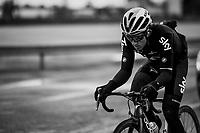 defending champion Michal Kwiatkowski (POL/SKY)<br /> <br /> 109th Milano-Sanremo 2018<br /> Milano &gt; Sanremo (291km)
