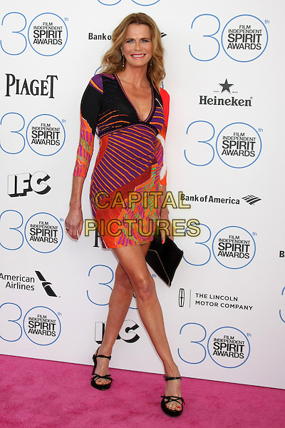 SANTA MONICA, CA - FEBRUARY 21: Serena Scott Thomas at the 30th Film Independent Spirit Awards in Santa Monica, California on February 21, 2015. <br /> CAP/MPI/DC/DE<br /> &copy;DE/DC/MPI/Capital Pictures