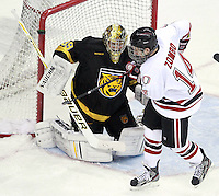 Colorado College defeated Nebraska-Omaha 5-2 Saturday night at CenturyLink Center in Omaha. (Photo by Michelle Bishop) .
