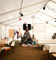 Christmans party in Winter town. Photo: Johanna Mårtensson/Scouterna