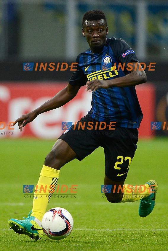 Assane Demoya Gnoukouri Inter<br /> Milano 20-10-2016 Stadio Giuseppe Meazza - Football Calcio Europa League Inter - Southampton. Foto Giuseppe Celeste / Insidefoto