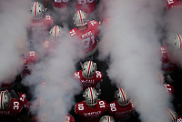 The Ohio State Buckeyes take the field before their NCAA college football game between the Ohio State Buckeyes and the Minnesota Golden Gophers on Saturday, October 13, 2018 at Ohio Stadium in Columbus, Ohio. [Joshua A. Bickel/Dispatch]
