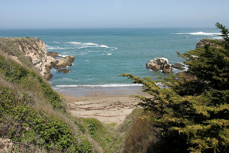 California, San Luis Obispo County: Montana de Oro state park offers scenic coastal views and tide pool exploring..Photo caluis175-70902..Photo copyright Lee Foster, www.fostertravel.com, 510-549-2202, lee@fostertravel.com