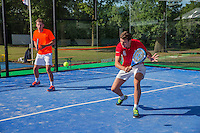 Den Bosch, Netherlands, 09 June, 2016, Tennis, Ricoh Open,Padel <br /> Photo: Henk Koster/tennisimages.com