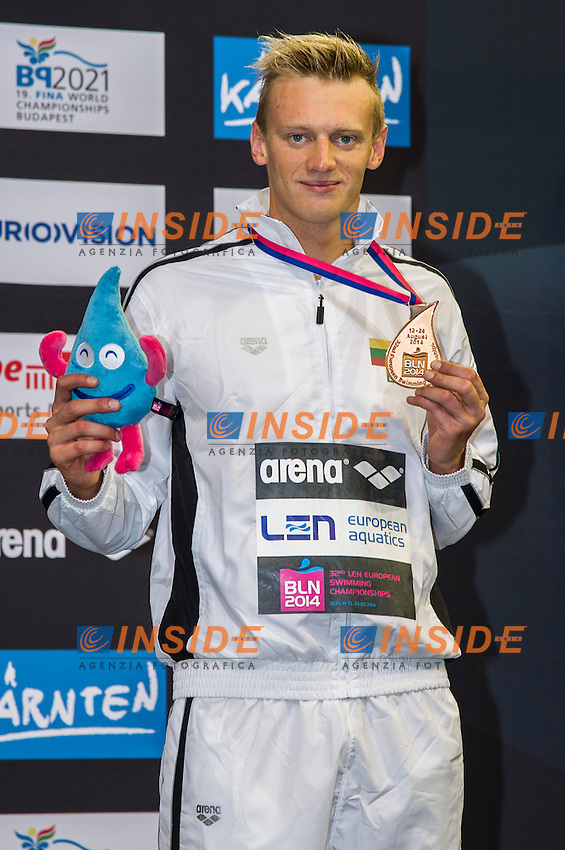 TITENIS Giedrius LTU Bronze Medal<br />