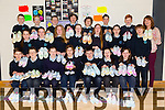 6th class Junior Entrepreneur Program cool dip-dye shoes from O' Brennan National School Tralee on Friday