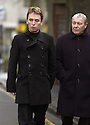 15/1/04          Copyright Pic : James Stewart.File Name : jspa05_doyle_funeral.SNOOKER STAR KEN DOHERTY ARRIVES AT THE FUNERAL OF IRENE DOYLE, THE WIFE OF110SPORT BOSS IAIN DOYLE, WHO DIED  WHILST IN SPAIN.... DOYLE'S 110SPORT LTD MANAGES SOME OF THE WORLD'S TOP SNOOKER STARS INCLUDING SCOTLAND'S STEPHEN HENDRY, WALES' MARK WILLIAMS AND IRELAND'S KEN DOHERTY....(see copy from George Mair / Tim Bugler).....Payment should be made to :-.James Stewart Photo Agency, 19 Carronlea Drive, Falkirk. FK2 8DN      Vat Reg No. 607 6932 25.Office     : +44 (0)1324 570906     .Mobile  : +44 (0)7721 416997.Fax         :  +44 (0)1324 570906.E-mail  :  jim@jspa.co.uk.If you require further information then contact Jim Stewart on any of the numbers above.........