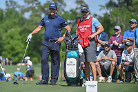 Phil Mickelson (USA) looks over his tee shot on 3 during round 1 of the Houston Open, Golf Club of Houston, Houston, Texas. 3/29/2018.<br /> Picture: Golffile | Ken Murray<br /> <br /> <br /> All photo usage must carry mandatory copyright credit (© Golffile | Ken Murray)