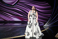 Beanie Feldstein presents during the live ABC Telecast of The 92nd Oscars® at the Dolby® Theatre in Hollywood, CA on Sunday, February 9, 2020.<br /> *Editorial Use Only*<br /> CAP/AMPAS<br /> Supplied by Capital Pictures