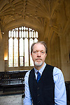 Adam Roberts at the Divinity School, Bodleian Library during the Sunday Times Oxford Literary Festival, UK, 16 - 24 March 2013. <br />