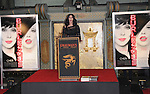 Cher at her Hand and Footprint Ceremony where she was honored at The Grauman Chinese Theatre in Hollywood, California on November 18,2010                                                                               © 2010 Hollywood Press Agency