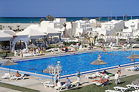 Tunisia, Djerba: resort Hotel Djerba Palace, swimming pool