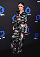 HOLLYWOOD, CA - JANUARY 18:  Francia Raisa at the Freeform Summit at NeueHouse on January 18, 2018 in Hollywood, California. (Photo by Scott Kirkland/PictureGroup)