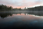 Glory Lake Hartwick Pines SP Michigan sunrise