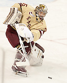 Parker Milner (BC - 35) - The Boston College Eagles defeated the visiting University of Vermont Catamounts to sweep their quarterfinal matchup on Saturday, March 16, 2013, at Kelley Rink in Conte Forum in Chestnut Hill, Massachusetts.