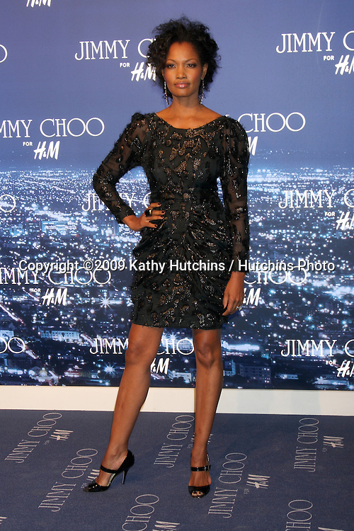 Garcelle Beauvais- Nilon.arriving at the Jimmy Choo for H&M Launch Party.Private Residence.West Hollywood,  CA.November 2, 2009.©2009 Kathy Hutchins / Hutchins Photo.
