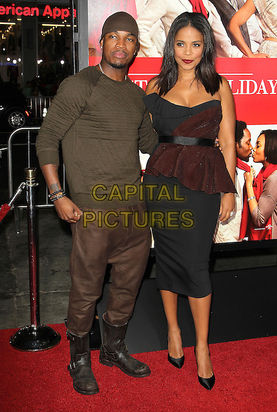 05 November 2013 - Hollywood, California - Ne-Yo (Shaffer Chimere Smith) &amp; Sanaa Lathan at &quot;The Best Man Holiday&quot; Los Angeles Premiere held at TCL Chinese Theatre on November 5th, 2013<br /> CAP/ADM/KB<br /> &copy;Kevan Brooks/AdMedia/Capital Pictures