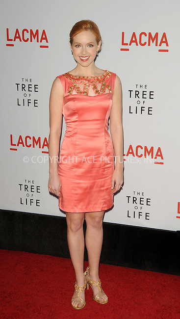 WWW.ACEPIXS.COM . . . . .  ....May 24 2011, Los Angeles....Actress Kimberly Whalen arriving at the premiere of  'The Tree of Life' at the Bing Theatre at the Los Angeles County Museum of Art on May 24, 2011 in Los Angeles, California....Please byline: PETER WEST - ACE PICTURES.... *** ***..Ace Pictures, Inc:  ..Philip Vaughan (212) 243-8787 or (646) 679 0430..e-mail: info@acepixs.com..web: http://www.acepixs.com