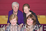 Members of Broadford ICA enjoy a Christmas Party night out in The Gables, Athea last Saturday, F l-r: Marjorie Sheedy, Ciss Collins. B l-r: Lynn Montague and Cecelie O'Connor.