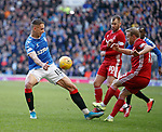 01.02.2020 Rangers v Aberdeen: Nikola Katic and Dylan McGeouch