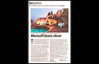 Daily Telegraph - Microsoft X-Box Launch - Palais Bulles, La Napoule, France - October 2001