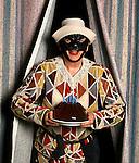 """Milano 19 Aprile 2007, Piccolo Teatro.Ferruccio Soleri """"Arlecchino Servitore di due padroni""""; Milan April 19, 2007, Piccolo Teatro.Ferruccio Soleri """"Arlecchino Servant of Two Masters"""""""