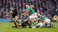 19th November 2016 | IRELAND vs NEW ZEALAND<br /> <br /> Conor Murray during the Autumn Series International clash between Ireland and New Zealand at the Aviva Stadium, Lansdowne Road, Dublin,  Ireland. Photo by John Dickson/DICKSONDIGITAL