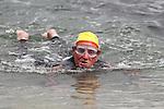 "Myles McCourt at the Clogherhead ""Round the Head Swim""....(Photo credit should read Jenny Matthews/NEWSFILE)..."