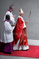 Pope Francis  mass with the ecclesial movements for Pentecost Sunday on May 19, 2013