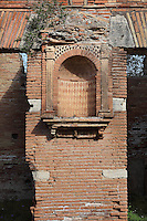 Niche, Caseggiato del Larario (House of the Lararium), 2nd century AD, Ostia Antica, Italy. Picture by Manuel Cohen