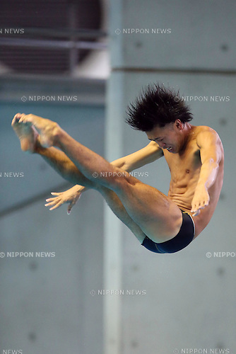 Sho Sakai (JPN), SEPTEMBER 22, 2013 - Diving : All Japan Diving Championship 2013 Men's 3m Springboard Final at Tatsumi International Swimming Pool, Tokyo, Japan.(Photo by AFLO SPORT) [1156]