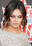 Actress Mila Kunis arrives at the 2008 VH1 Rock Honors: The Who at Pauley Pavilion on the UCLA Campus on July 12, 2008 in Westwood, California. California.