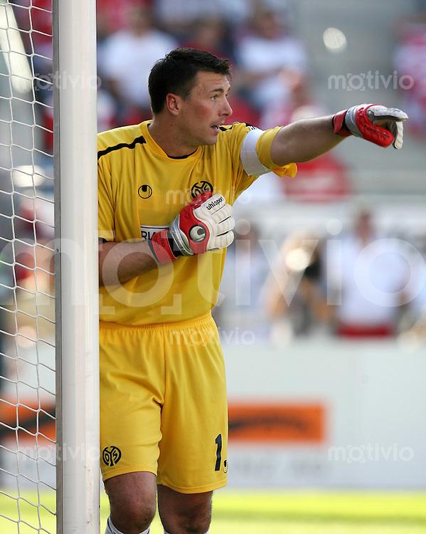 Fussball   1. Bundesliga   Saison 2006/2007 Dimo WACHE (FSV Mainz 05) enttaeuscht