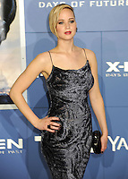 "NEW YORK CITY, NY, USA - MAY 10: Jennifer Lawrence at the World Premiere Of Twentieth Century Fox's ""X-Men: Days Of Future Past"" held at the Jacob Javits Center on May 10, 2014 in New York City, New York, United States. (Photo by Celebrity Monitor)"