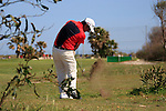 Felipe Aguilar (CHI) plays his 2nd shot from the rough on the 16th hole during the Final Day Sunday of the Open de Andalucia de Golf at Parador Golf Club Malaga 27th March 2011. (Photo Eoin Clarke/Golffile 2011)