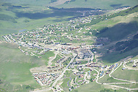 aerial Mount Crested Butte, CO