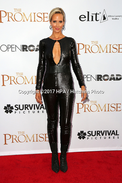 "LOS ANGELES - APR 12:  Lady Victoria Hervey at the ""The Promise"" Premiere at the TCL Chinese Theater IMAX on April 12, 2017 in Los Angeles, CA"