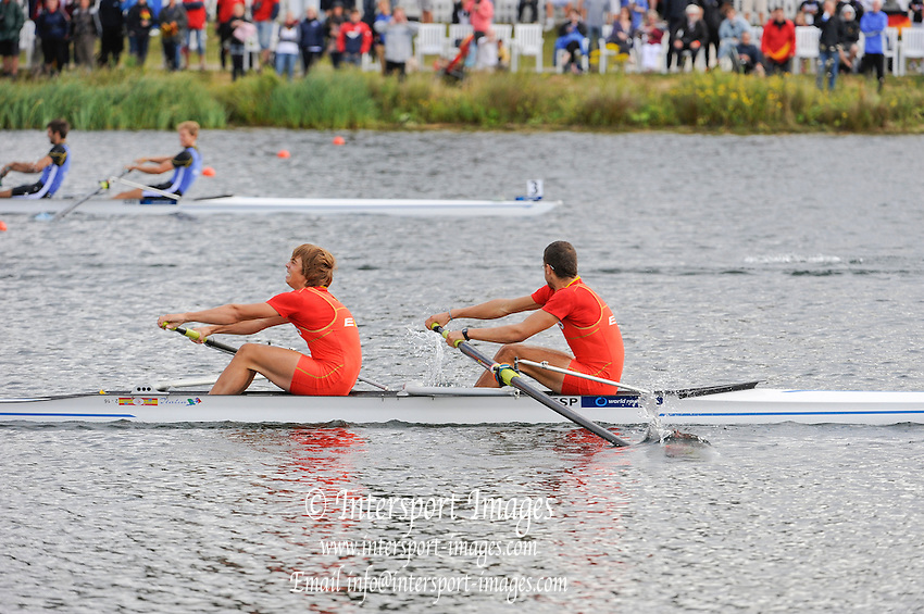 Eton. Great Britain. JM2-, Final,  FISA Junior  World Rowing Championships. Dorney Lake, Nr Windsor. Sunday, 07/08/2011 [Mandatory credit: Intersport Images]
