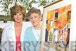 Anne Mangan and Mary Pat O'Sullivan from the Killorglin Art group who are holding an exhibition in Killorglin CYMS from 30th July to 1st August