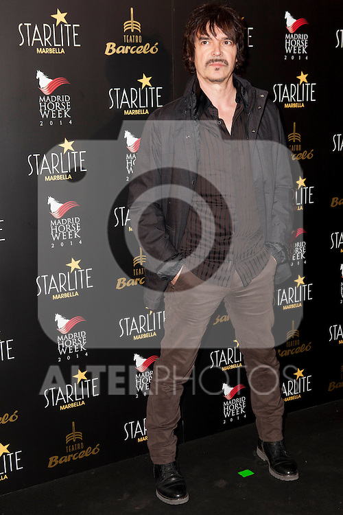 Nacho Campillo attends Starlite 2015 presentation party at the Barcelo Theater on November 26, 2014 in Madrid, Spain.(ALTERPHOTOS / Nacho Lopez)