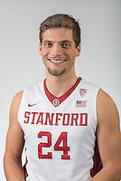 STANFORD, CA - November 13, 2015: The Stanford Cardinal 2015-2016 Men's Basketball Team