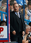 Rafael Benitez manager of Newcastle United looks on during the premier league match at the John Smith's Stadium, Huddersfield. Picture date 20th August 2017. Picture credit should read: Simon Bellis/Sportimage