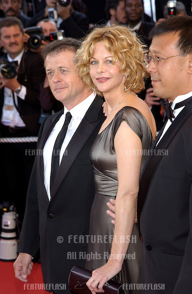 Cannes Jury member actress MEG RYAN at the opening gala ceremony of the 56th Annual Cannes Film Festival. The movie, Fanfan la Tulipe, opened the Festival..14MAY2003.  © Paul Smith / Featureflash