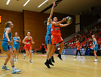 29th November 2019; Bendat Basketball Centre, Perth, Western Australia, Australia; Womens National Basketball League Australia, Perth Lynx versus Southside Flyers; Lauren Mansfield of the Perth Lynx lays up in the key - Editorial Use